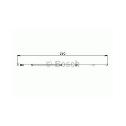 Bosch Styk ostrzegwaczy, zużycie okładzin hamulcowych 1 987 474 585 (4047025165303)