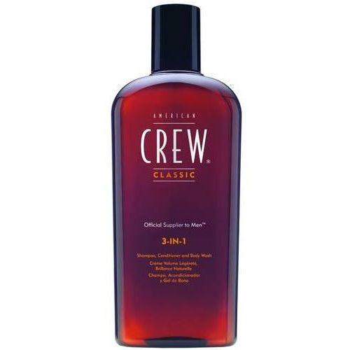American Crew Classic 3-in-1 | Szampon, odżywka, żel pod prysznic 250ml