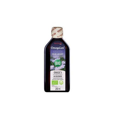 OmegaLen OLEJ LNIANY BIO ekologiczny tłoczony na zimno OmegaLen® 250 ml