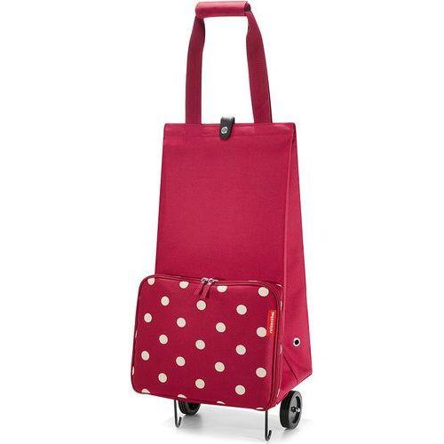 Wózek na zakupy  Foldabletrolley Ruby Dots, wózek na zakupy Reisenthel