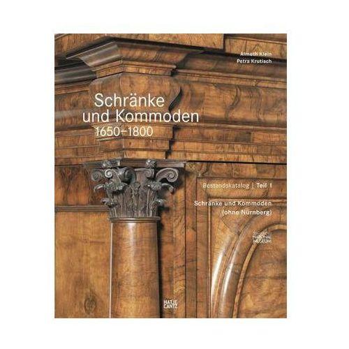 Schränke und Kommoden 1650-1800 im Germanischen Nationalmuseum, 2 Bde. (9783775740234)