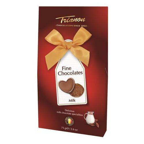 Trianon gift pack z belgijską mleczną czekoladą 75g opakowanie przezentowe