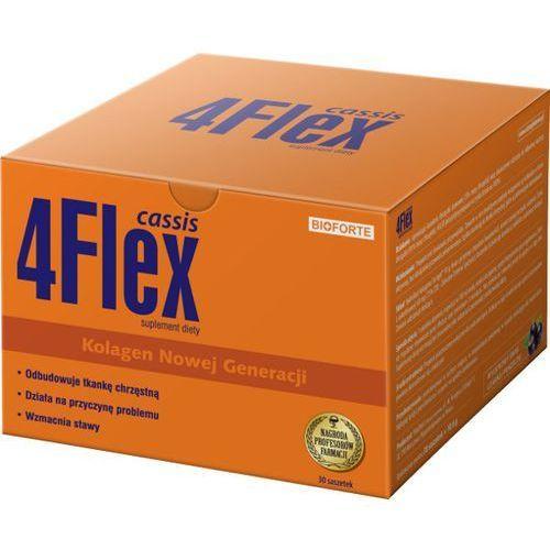 4 Flex cassis proszek o smaku czarnej porzeczki 30 saszetek Kurier: 13.75, odbiór osobisty: GRATIS! (proszek)
