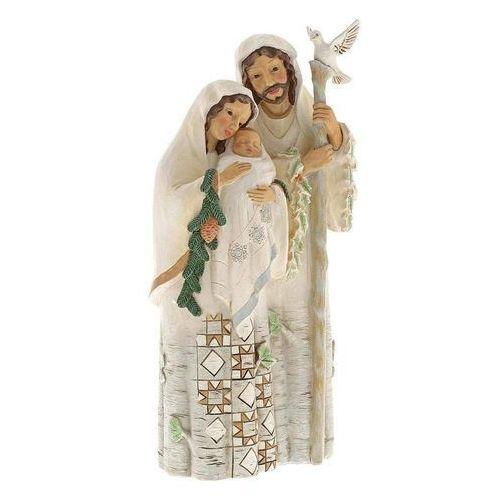 Biała szopka święta rodzina czysta i doskonała miłośćpure and perfect love (white woodland holy family) 6001413 figurka ozdoba świąteczna marki Jim shore