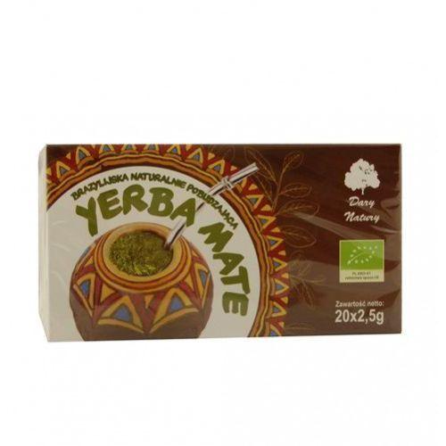 Yerba mate - herbatka ekspresowa marki Dary natury