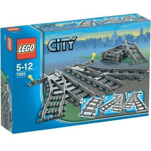 Lego City ZWROTNICA KOLEJOWA 7895 z kategorii: klocki dla dzieci