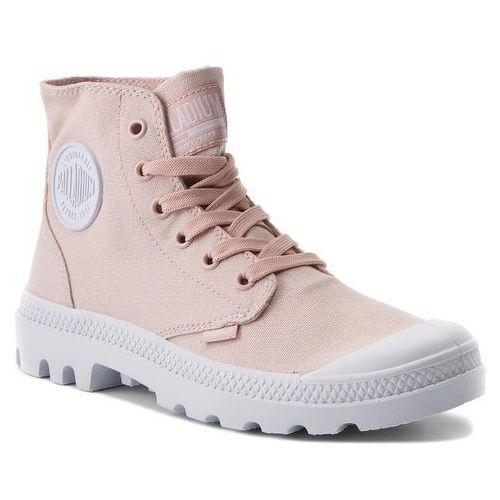 4927fbb763648 Trapery PALLADIUM - Blanc Hi 72886-638-M Peach Whip, kolor różowy 299,00 zł  potężnie wytwarzany model od Palladium. Cholewkę butów generuje materiał ...