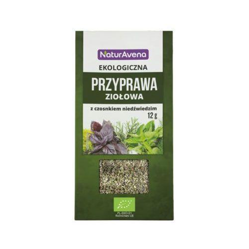 12g przyprawa ziołowa z czosnkiem niedźwiedzim bio marki Naturavena