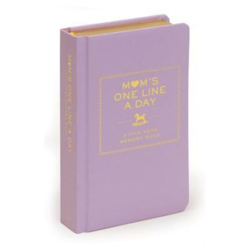 Mom's One Line a Day: A Five-Year Memory Book (9780811874908)