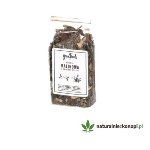 Herbata malinowo konopna 100g