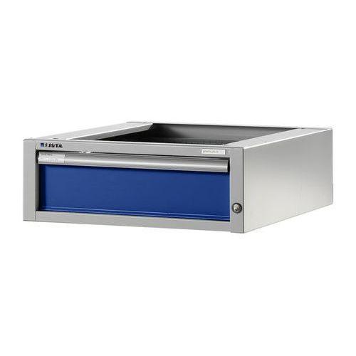 Stół warsztatowy w systemie modułowym, szafka dolna,wys. 204 mm, 1 szuflada