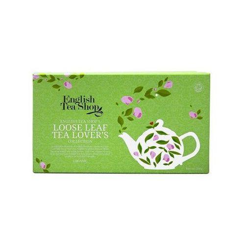 English tea shop Ets tea lover's collection 4 x 60 g z zaparzaczami