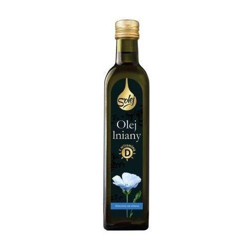 Olej lniany z witaminą d 250ml marki Oleofarm