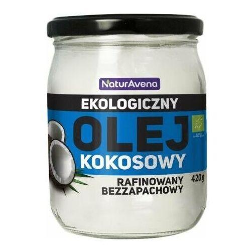 Olej kokosowy BIO rafinowany bezzapachowy 420g - Naturavena