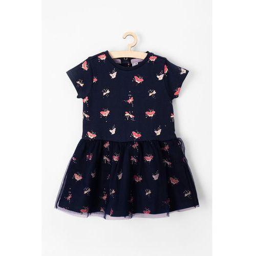 5.10.15. Sukienka niemowlęca 100%bawełna 5k3604
