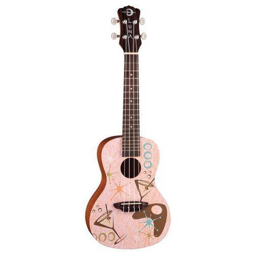uke pink martini - ukulele koncertowe marki Luna