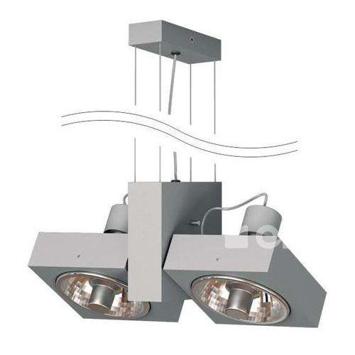 LAMPA wisząca ASPEN T008B1Wm+kolor+2x70W Cleoni reflektorowa OPRAWA zwis regulowany