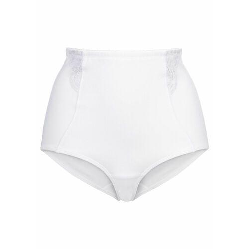 """Figi wyszczuplające """"panty"""" Level 3 bonprix biały, w 2 rozmiarach"""