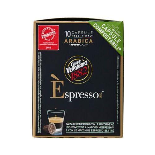 10szt nespresso arabica włoska kawa w kapsułkach import marki Caffe vergnano