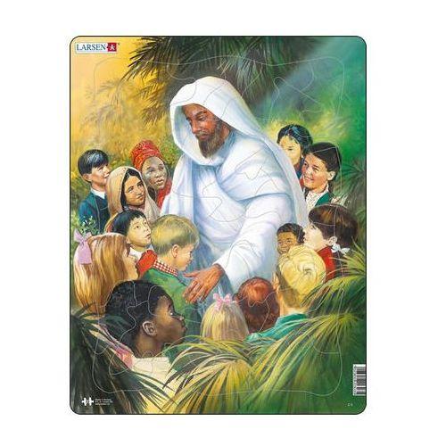 Puzzle maxi - bible - ježíš s dětmi/32 dílků marki Neuveden