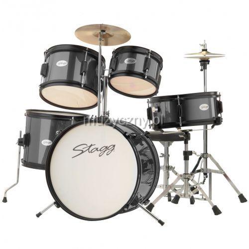 Stagg tim-j5/16-bk zestaw perkusyjny