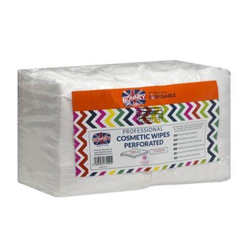 cosmetic wipes perforated chusteczki kosmetyczne gładkie (25x20) marki Ronney