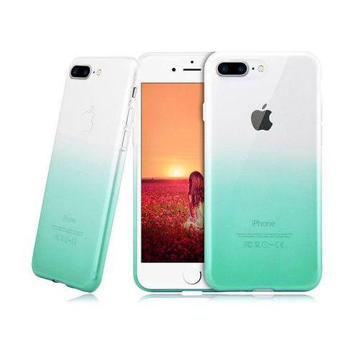 Alogy Etui ombre case apple iphone 7 plus / 8 plus zielone - zielony