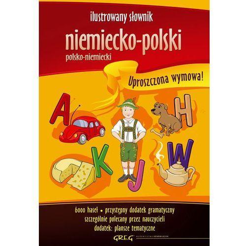 ILUSTROWANY SŁOWNIK NIEMIECKO-POLSKI, POLSKO-NIEMIECKI DLA DZIECI (208 str.)