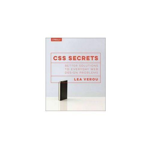CSS Secrets: Better Solutions to Everyday Web Design Problems, Verou, Lea
