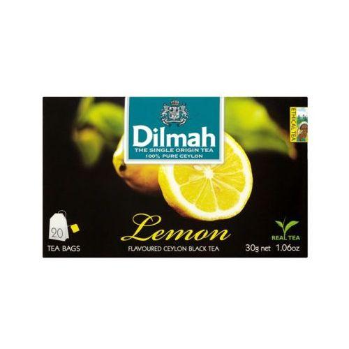 20x1,5g lemon herbata ekspresowa aromatyzowana marki Dilmah