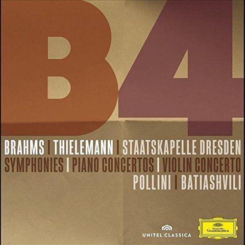 Universal music / deutsche grammophon Christian thielemann - brahms: symphonies, piano concertos