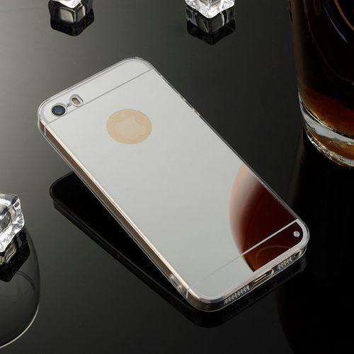 Slim Mirror Case Srebrny   Etui dla Apple iPhone 5 / 5S / SE - Srebrny
