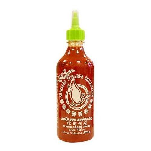 Sos chili Sriracha z trawą cytrynową, ostry (52% chili) 455ml - Flying Goose