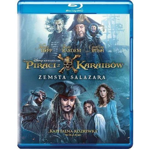 Piraci z karaibów: zemsta salazara (bd) marki Galapagos
