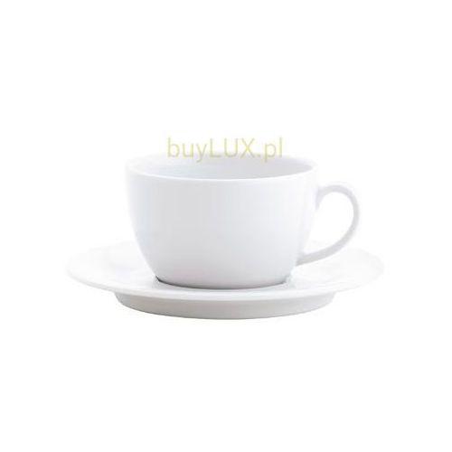 pronto 6x porcelanowa biała filiżanka do herbaty 0,40 l + spodeczek 18 cm marki Kahla