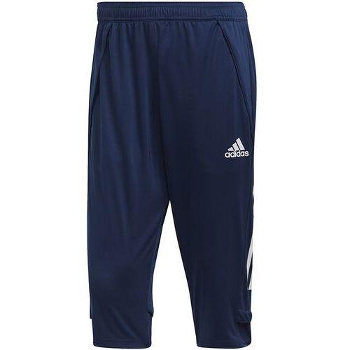 Spodnie męskie adidas Condivo 20 3/4 Training Pants granatowe ED9215, kolor niebieski