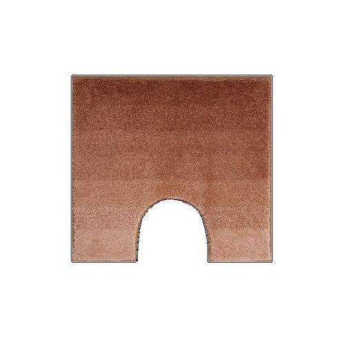 Dywanik na WC Grund RIALTO brązowy, 55 x 50 cm - oferta [453c4d7a8745a56d]