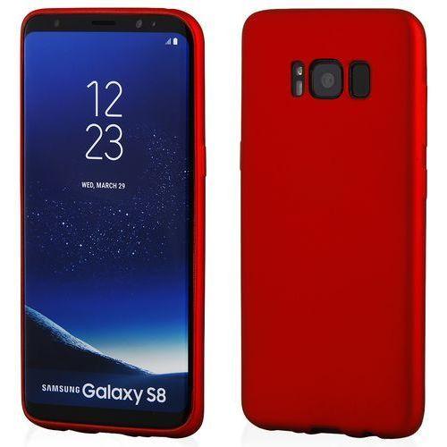 Etui KLTRADE Back Case Pudding Slim do Samsung Galaxy S8 Czerwony, kolor czerwony