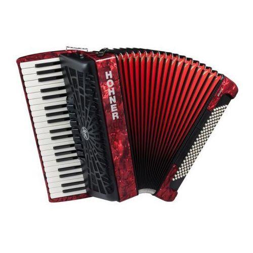 Hohner bravo iii 120 akordeon (czerwony)