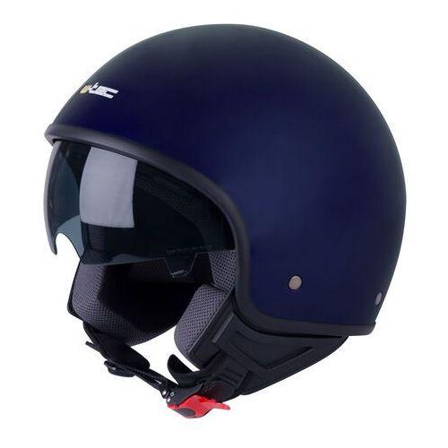 Kask motocyklwoy otwarty na skuter chopper W-TEC FS-710, Ciemnoniebieski, XL (61-62)