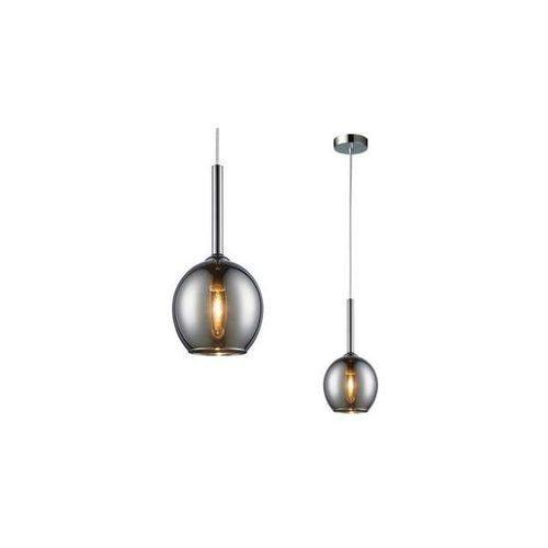 LAMPA wisząca MONIC MD1629-1 Chrome Zumaline skandynawska OPRAWA szklany ZWIS kula ball chrom lustrzana, MD1629-1 Chrome