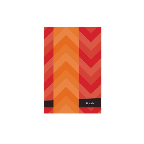 Etchbooks Brandy, Chevron, College Rule, 6 X 9', 100 Pages