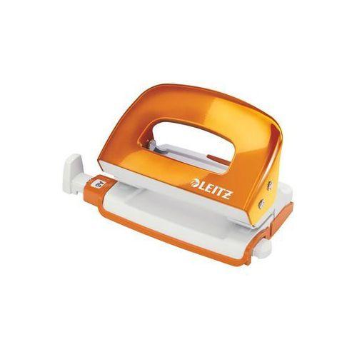 Leitz Dziurkacz mini wow 5060-44 pomarańczowy