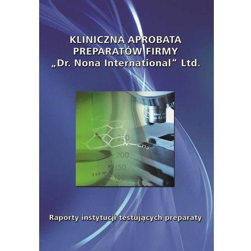Książka - 'Kliniczna aprobata preparatów