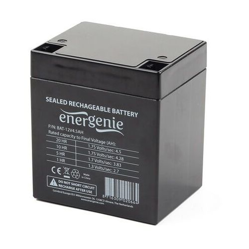 Gembird Akumulator żelowy do ups 12v/4.5ah uniwersalny