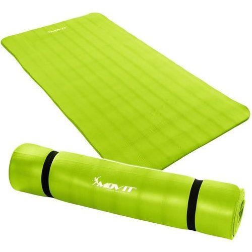 Movit ® Jasnozielona mata piankowa 190x100x1,5cm do ćwiczeń / fitness - jasnozielony / 190x100x1,5 cm
