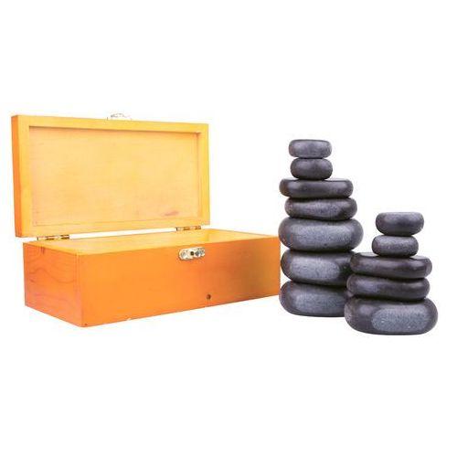 Kamienie bazaltowe z lawy wulkanicznej inSPORTline Basalt Stone - 12 szt. (8596084026507)