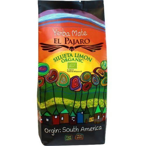 Yerba mate El Pajaro Silueta Limon Organic 400/1000g, ep_sil_limo