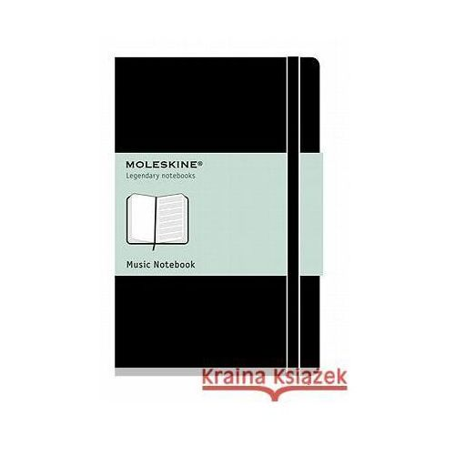Moleskine Music Notebook-Large (9788862933100)