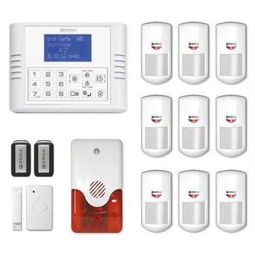 Bezprzewodowy system alarmowy expanda r9 + syrena 105 db - alarm bezprzewodowy expanda r9 z syreną 105 db marki Erda electronic